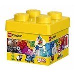 Ficha técnica e caractérísticas do produto Balde Lego 10692 Peças Criativas 221 Pçs C/ Livro de Idéias - Amarelo