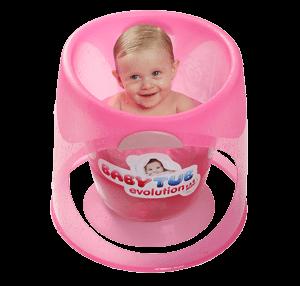 Ficha técnica e caractérísticas do produto Banheira Babytub Evolution (Rosa)