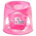 Banheira Ofurô Relaxante Bebes Baby Tub - de 0 à 8 Meses - Rosa