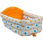 Banheira para Bebê Poli Inflável Branco - First Steps