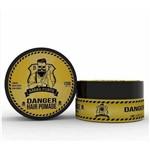 Barba Forte Hair Pomade Danger 120g Pomada Fixação Forte