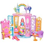 Ficha técnica e caractérísticas do produto Barbie Castelo de Arco Íris FRB15 Mattel