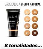 Ficha técnica e caractérísticas do produto Base Liquida Efeito Natural Vult