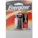 Ficha técnica e caractérísticas do produto Bateria 9 Volts Alcalina Energizer Max 9v Cartela Individual