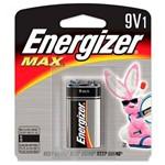 Ficha técnica e caractérísticas do produto Bateria Alcalina 9v Energizer Max