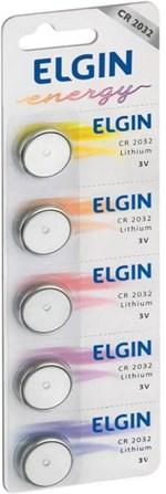 Ficha técnica e caractérísticas do produto Bateria de Litio Cr 2032 C/5 82193 - 84