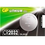 Ficha técnica e caractérísticas do produto Bateria GP CR2032-7K 3 Volts (DL2032)