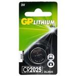 Ficha técnica e caractérísticas do produto Bateria Gp Cr2025-7c1 de Lítio 3v