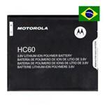 Ficha técnica e caractérísticas do produto Bateria HC60 Moto C Plus XT1723 XT1726 Motorola Original
