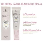 Ficha técnica e caractérísticas do produto Bb Cream Latika Clareador Fps 44 Base Bege Claro
