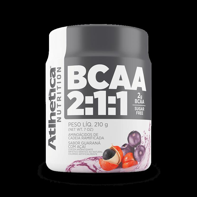 Ficha técnica e caractérísticas do produto BCAA 2:1:1 (210g) Atlhetica Nutrition