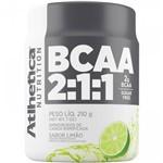 Ficha técnica e caractérísticas do produto BCAA 2:1:1 - 210g Limão - Atlhetica Nutrition