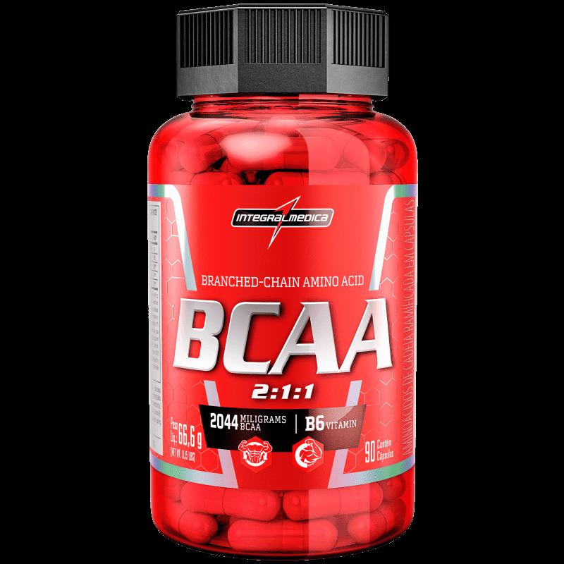 Ficha técnica e caractérísticas do produto BCAA 2:1:1 (90caps) IntegralMedica