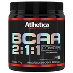 Ficha técnica e caractérísticas do produto Bcaa 2:1:1 Powder - Atlhetica - 225g- Limão