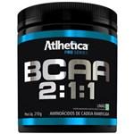 Ficha técnica e caractérísticas do produto Bcaa 2:1:1 Pro Series - 210gr - Atlhetica Nutrition - Limão - 210 G