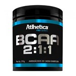 Ficha técnica e caractérísticas do produto BCAA 2:1:1 Pro Series - Morango C/ Maracujá Atlhetica 210g - Atlhetica Nutrition