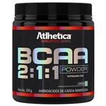 Ficha técnica e caractérísticas do produto Bcaa Powder 2:1:1 - Atlhetica - 225g - Limão