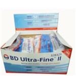 Ficha técnica e caractérísticas do produto BD Ultra Fine Seringa para Insulina Agulha Curta 0,5cc com 10