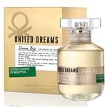 Ficha técnica e caractérísticas do produto Benetton Perfume Feminino Dream Big Eau de Toilette 80ml
