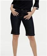 Ficha técnica e caractérísticas do produto Bermuda Feminina Jeans Cintura Alta Marisa