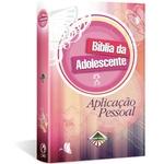 Ficha técnica e caractérísticas do produto Bíblia da Adolescente Aplicação Pessoal Capa Dura
