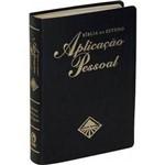 Ficha técnica e caractérísticas do produto Bíblia de Estudo Aplicação Pessoal Gd Preta