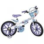 """Ficha técnica e caractérísticas do produto Bicicleta 16"""" Frozen Disney - 2499 - Brinquedos Bandeirantes"""
