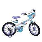 """Ficha técnica e caractérísticas do produto Bicicleta 16"""" Frozen Disney Cestinha Bandeirante - 2499"""