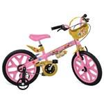 Ficha técnica e caractérísticas do produto Bicicleta Princesas Disney Bandeirante Aro 16 - Brinquedos Bandeirante