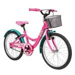Ficha técnica e caractérísticas do produto Bicicleta Aro 20 - Disney - Barbie - Rosa - Caloi