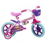 Ficha técnica e caractérísticas do produto Bicicleta Aro 12 - Disney - Barbie - Rosa - Caloi