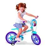 Ficha técnica e caractérísticas do produto Bicicleta Aro 12 - Dizney Frozen - Bandeirante
