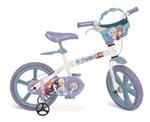 Ficha técnica e caractérísticas do produto Bicicleta Aro 14 - Disney - Frozen - Bandeirante