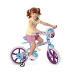Ficha técnica e caractérísticas do produto Bicicleta Aro 14 - Dizney Frozen - Bandeirante