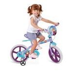 Ficha técnica e caractérísticas do produto Bicicleta Aro 14 Frozen Disney 2485 Bandeirantes