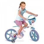 Ficha técnica e caractérísticas do produto Bicicleta Aro 14 Frozen Disney Bandeirantes
