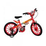 Ficha técnica e caractérísticas do produto Bicicleta Aro 16 Carros Disney - Bandeirante