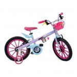 Ficha técnica e caractérísticas do produto Bicicleta Aro 16 Frozen Disney - Bandeirante 2473