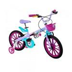 Ficha técnica e caractérísticas do produto Bicicleta Aro 16 Frozen Disney - Bandeirante