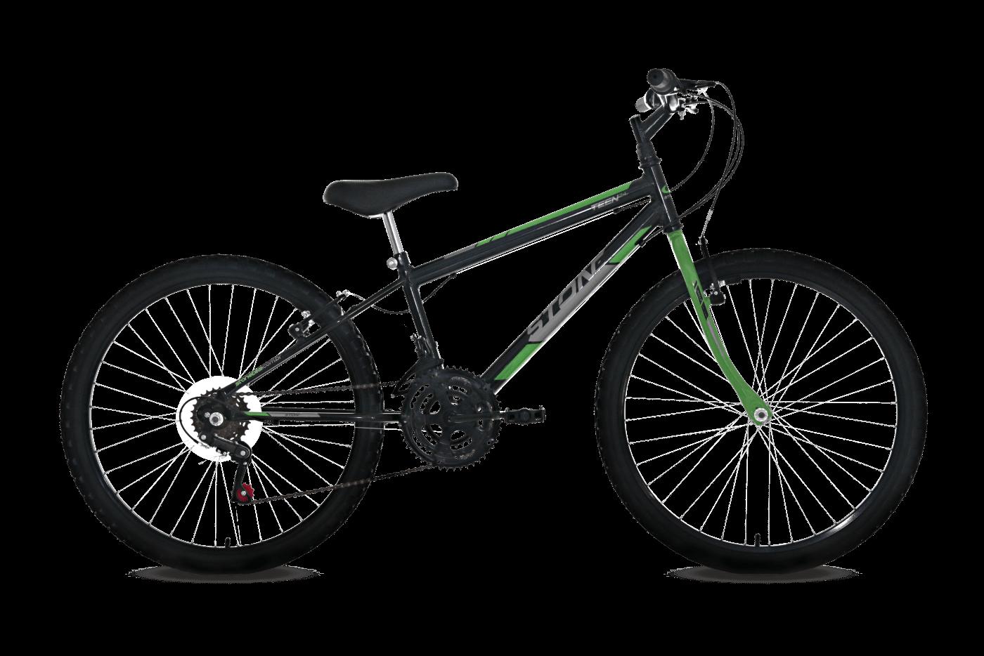Ficha técnica e caractérísticas do produto Bicicleta Aro 24 Teen 18V Masculina