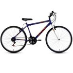 Ficha técnica e caractérísticas do produto Bicicleta Aro 26 TR 1 18V Azul - Azul Marinho