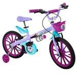 Ficha técnica e caractérísticas do produto Bicicleta Bandeirante Frozen Disney Aro 16