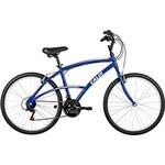 Bicicleta Caloi 100 Aro 26 21 Marchas Azul