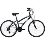 Ficha técnica e caractérísticas do produto Bicicleta Caloi 400 Feminina Aro 26 21 Marchas - Cinza