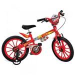 Ficha técnica e caractérísticas do produto Bicicleta Cars Disney Aro 16 Vermelho Bandeirante