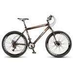 Bicicleta Colli Force One Mtb Aro 26, Freios à Disco, 21 Marchas, Shimano Preto com Laranja