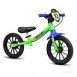 Ficha técnica e caractérísticas do produto Bicicleta de Equilíbrio Balance Bike Verde Nathor