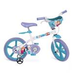 Ficha técnica e caractérísticas do produto Bicicleta Frozen Aro 14 com Cestinha - Bandeirante