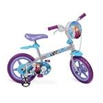Ficha técnica e caractérísticas do produto Bicicleta Frozen Bandeirante Aro 12, Prata