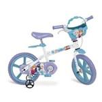 Ficha técnica e caractérísticas do produto Bicicleta Frozen Disney ARO 14 Bandeirante 2498